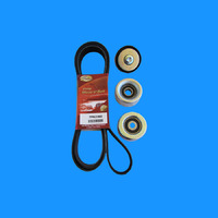 Drive Belt & Tensioner Idler Pulley kit For Petrol Toyota Hilux TGN16 / 121 2005 2006 2007 2008 2009 2010 2011 2012 2013 2014 2015